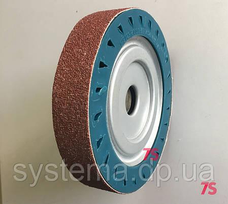 Шлифовальный барабан д. 150х30х25,4 мм, для лент 30х471-475 мм, расширяющийся от вращения, фото 2