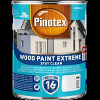 Фарба на водній основі PINOTEX WOOD PAINT EXTREME BW, білий 1 л