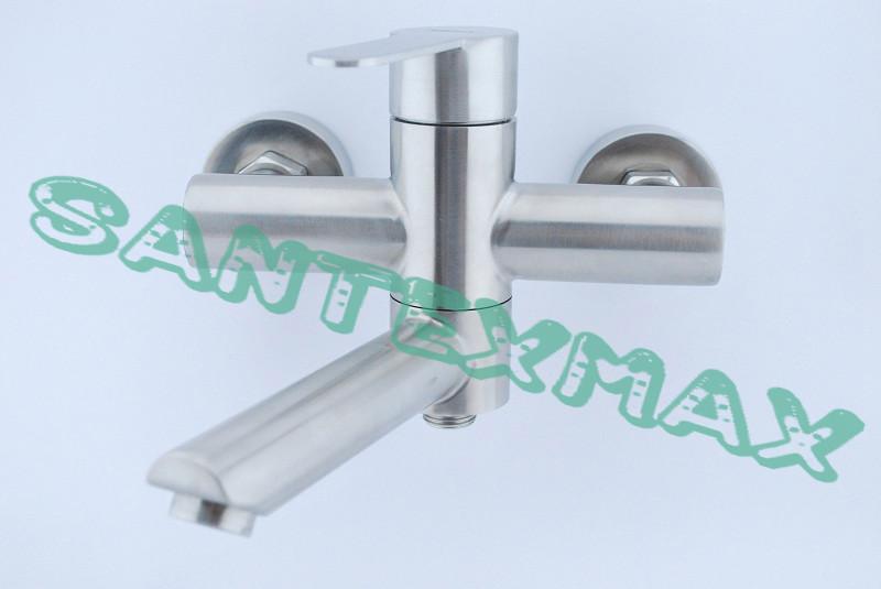 Смеситель для ванны и душа Zerix Lr 73103 из нержавеющей стали
