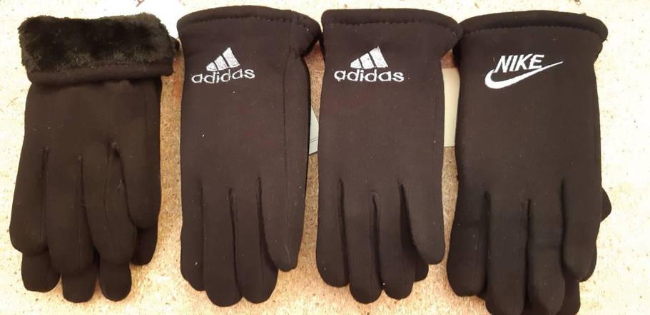 Трикотажные перчатки зимадля мальчика до 10 лет, фото 2
