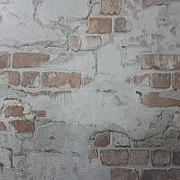 Обои Стена 5583-01,виниловые, супермойка,в рулоне 5 полос по 3 метра,ширина 0.53 м