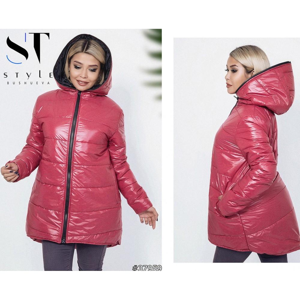 76bfa1c595e Куртка женская батал на синтепоне плащевка размеры 50-52-54-56-58-60 ...