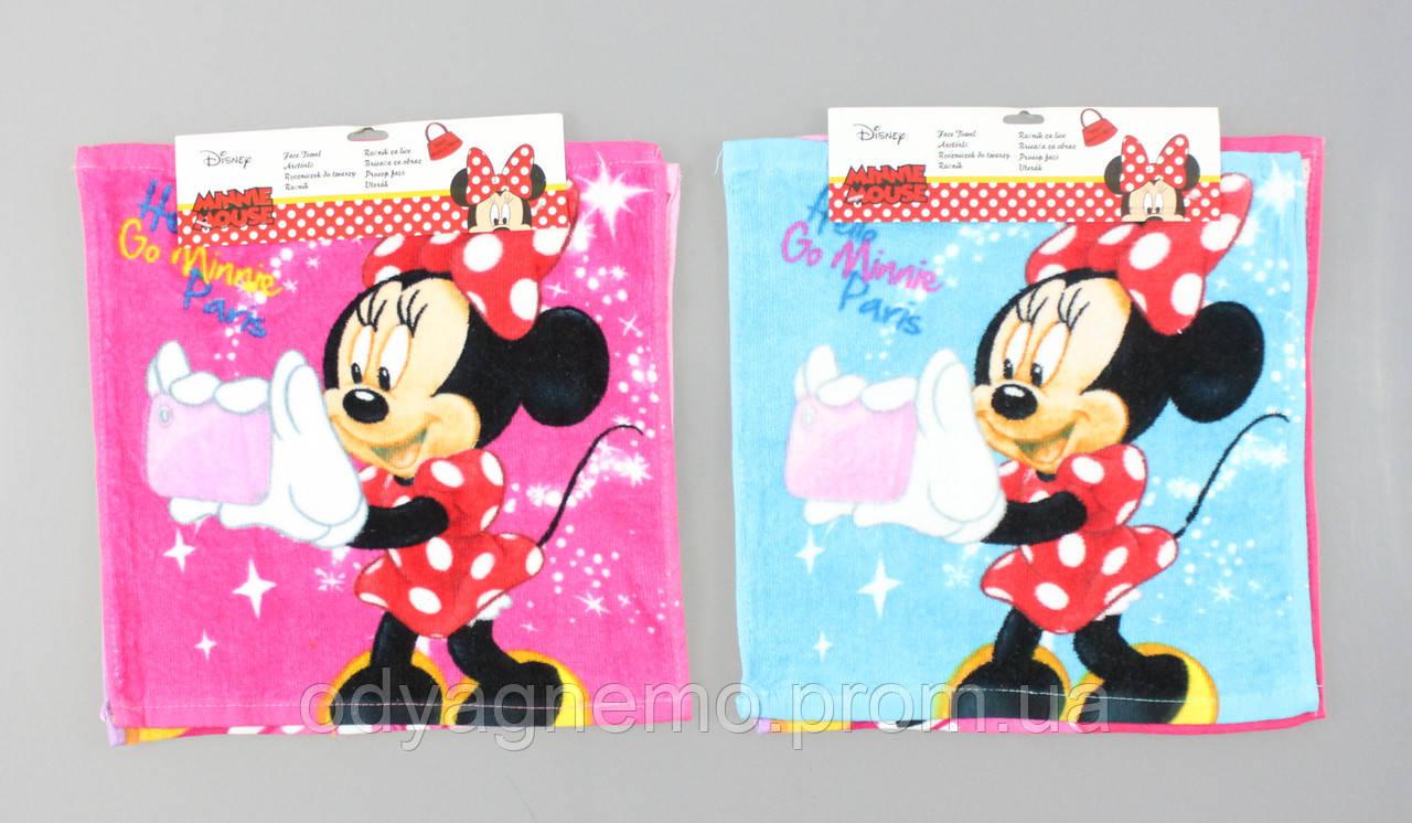 Набор полотенец Disney оптом, 30*30 см.