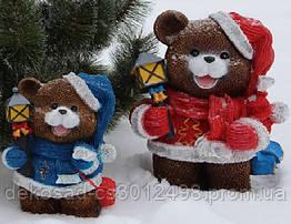 Статуэтка Медвежонок с фонариком