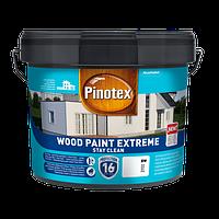 Фарба на водній основі PINOTEX WOOD PAINT EXTREME BW, білий 10 л