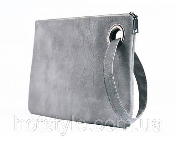 87009f419657 Купить Вечерний женский клатч/сумка, с ручкой, серый в Ровно от ...
