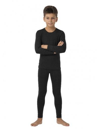 Термо комплект детский подростковый для мальчика TM KIFA, КДМ-203, вискоза, шерсть