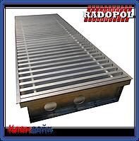 Внутрипольный конвектор Radopol KVK 14 250*1000
