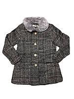 Пальто для девочек опт, размеры 3/4-7/8  F&D, арт. 9782