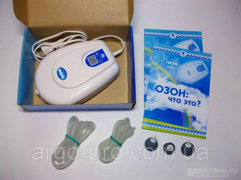 Озонатор бытовой Гроза Арго Оригинал (обработка воздуха, воды, продуктов питания, от бактерий, примесей)
