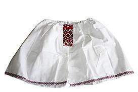 Мужские трусы - шорты Вышиванка красные