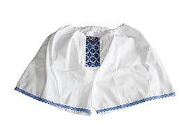 Мужские трусы - шорты Вышиванка синие