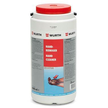 Очиститель для рук чистит и защищает одновременно Wurth