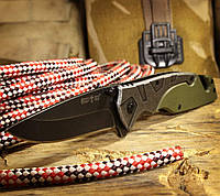 Нож складной Крокодил, со стропорезом