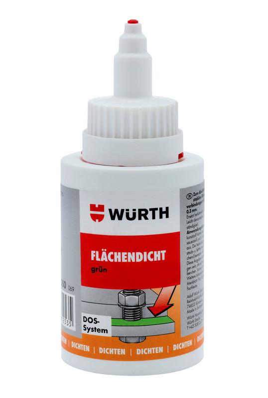 Фланцевый герметик зеленый Wurth
