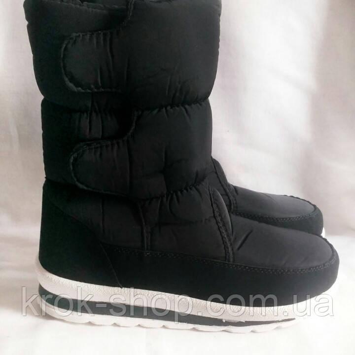 Ботинки женские зимние на липучке KG оптом