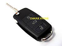 Чіп ключ запалювання автомобіля Lada викидний стиль VW, фото 1