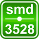 Нейтрально-белая  6,0W SMD3528 (60 LED/м) (nw) 4000-4300K Indoor IP33 Rishang Premium, фото 5
