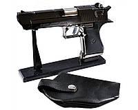 Зажигалка газовая Пистолет с кобурой