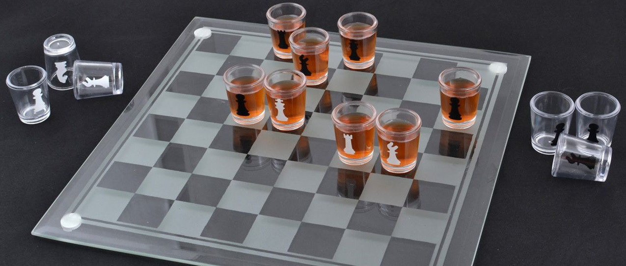 Алко игра шахматы (28х28см)
