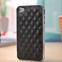 Чехлы для iPhone 4 4S Luxury кожаный, фото 1