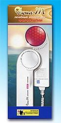 Аппарат световой терапии ДЮНА-Т Арго, лучи красного и инфракрасного цвета, гайморит, грипп, герпес, раны, угри