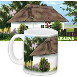 Кружка з принтом Ukraine 330 мл (KR_UKR013)