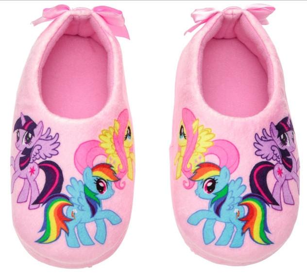 Очень яркие стильные домашние тапочки My Little Pony (стелька 20 -21см) H&M (США)