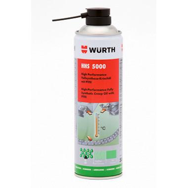 Высокоэффективная спрей-смазка HHS 5000 Wurth