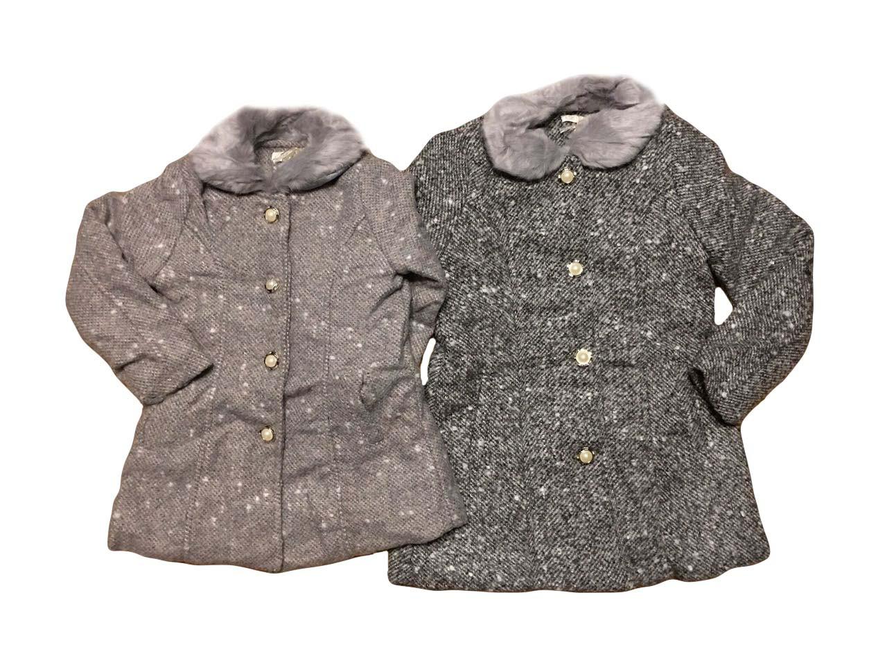 Пальто для девочек оптом, размеры 4-12лет   F&D, арт. 9783