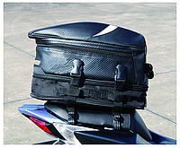 Прочная мото сумка на хвост (заднее сидение) под карбон RR9014 24х34х(21-26)см
