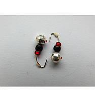 Мормышка вольфрамовая  Klasster MW-KL-1640C-SiL