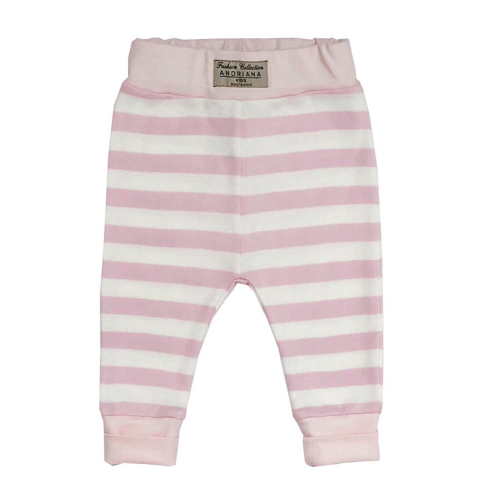 Детские штанишки Andriana Kids в розовую полоску