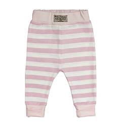 Детские штанишки от 0 до 4 лет Andriana Kids в розовую полоску