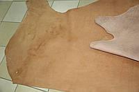 Натуральная кожа КРАСТ цвет мокрый песок.