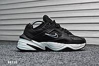 Мужские кроссовки Nike Tekno Black White (Реплика)