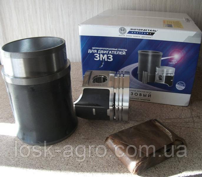 Гільзо-поршнева група ГАЗ-53 поршнекомплект Кострома Мотордеталь 53-1000105-04