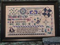 Схема для вышивки Seaside Sampler