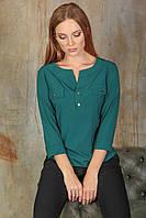 Келен Блузка зеленого цвета, фото 1