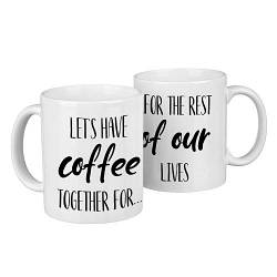 Парні гуртки Let's have coffee together for... 330 мл (KR2_18A032)