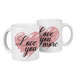 Парные кружки Love you, love you more 330 мл (KR2_18A004)