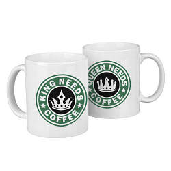 Парные кружки Need coffee 330 мл (KR2_18A018)
