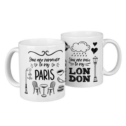 Парные кружки Paris, London 330 мл (KR2_18A019)