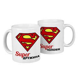 Парные кружки Super дружина, Super чоловік (KR2_18A009)