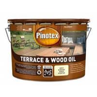 PINOTEX TERRACE & WOOD OIL Тонируемое атмосферостойкое деревозащитное масло 10 л
