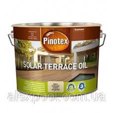 PINOTEX SOLAR TERRACE OIL Тонируемое масло для терас, меблів та фасадів на водній основі 2,33 л