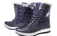 Женские зимние высокие кроссовки на плотном меху 36 37 38