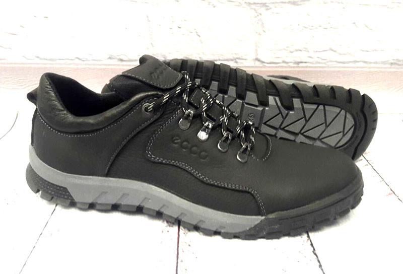 Мужские Кожаные Туфли Ecco Закрытые Черные E0050 — в Категории ... b6d0d98b9691d