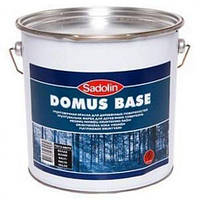 Краска Sadolin Domus Base - краска для дерева, белая, 5 л.