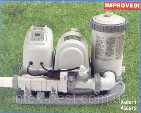 Хлоргенератор с фильтрующим насосом Intex 56612, фото 2
